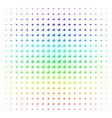 baby carriage icon halftone spectrum grid vector image vector image