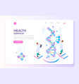 beauty and health laboratory banner vector image