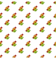 Candy pattern cartoon style vector image vector image
