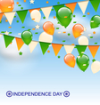 Decoration Buntings Flags Garlands vector image