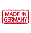 made in germany stamp text vector image