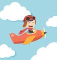 Pilot Boy vector image vector image