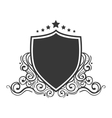 shield ornament stamp vector image