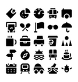 Travel Icons 11 vector image vector image