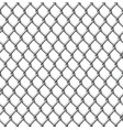 wire fence seamless tile vector image vector image