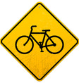 Bike Sign vector image vector image