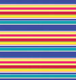 Cheerful Stripe vector image vector image