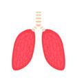 illness human lung wuhan coronavirus theme design vector image