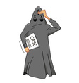 Justice blind vector image vector image