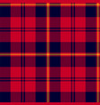 scottish plaid classic tartan seamless pattern vector image vector image