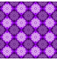 Seamless Pattern of Purple and Pink Rhombuses vector image vector image