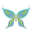 symbolical colorful butterfly vector image