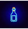 vodka neon sign vector image vector image
