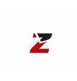 Z logo icons vector image vector image