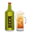 beer glass icon design graphic vector image vector image