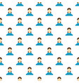best female avatar pattern seamless vector image