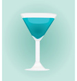 coctail vector image vector image
