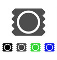 condom package icon vector image