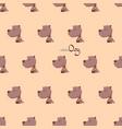 cute cartoon dog vector image vector image
