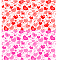 dual seamless hearts pattern