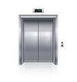 Elevator doors vector image vector image