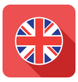 flat britain icon vector image vector image