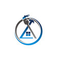 house repair and painting vector image vector image