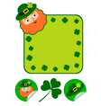 Patricks day set vector | Price: 1 Credit (USD $1)