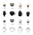 tableware cup glass and other web icon in vector image vector image