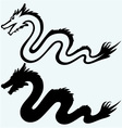 traditional chinese dragon vector image