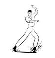baile flamenco-01 vector image vector image