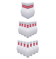 bowling pins isolated on white realistic 3d vector image vector image