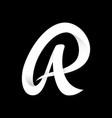 creative luxury letter ar design