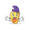 elf mango character cartoon mascot vector image vector image