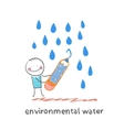 environmental water vector image vector image