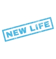 New Life Rubber Stamp vector image vector image