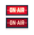 on air realistic sign vector image vector image