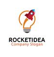 Rocket Idea Design vector image vector image