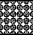 Seamless pattern black and white repeating