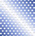 Seamless stainless blue shade metallic grid vector image vector image