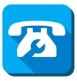 Service Telephone Icon vector image