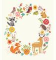 animals background vector image