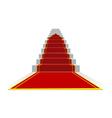 success ladder vector image
