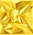 abstract polygonal decoration background vector image vector image