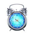 alarm clock 3d realistic vector image