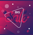 big sale purple with and line dot abstract vector image