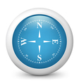Blue glossy icon vector | Price: 1 Credit (USD $1)