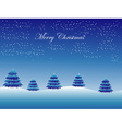 Christmas tree Abstract Background vector image
