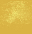 distressed yellow background vector image vector image