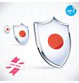I Love Japan Flag vector image vector image
